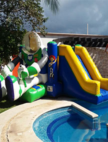 Inflable Buzz Lightyear