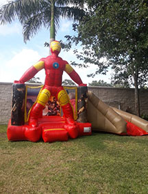 Inflable Iron Man