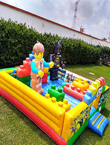 Inflable Lego Adventure